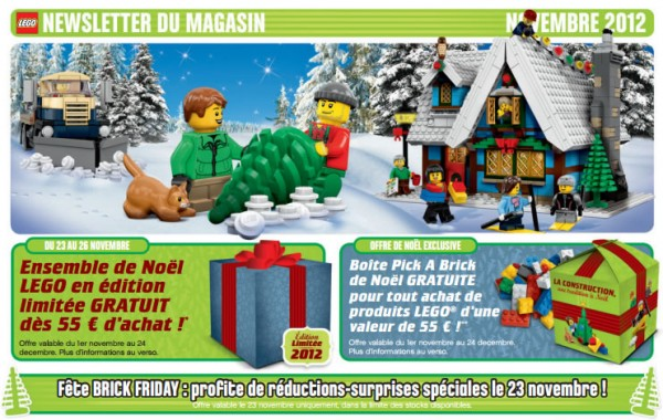 LEGO Store SO OUEST - Promotions