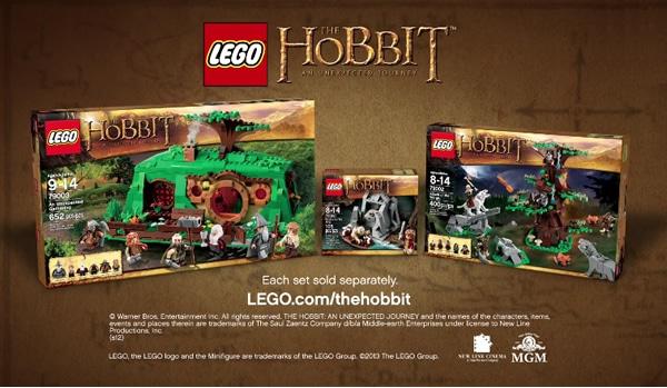 Première publicité TV pour la gamme The Hobbit