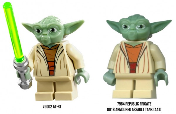 LEGO Star Wars 2013 - New Yoda Minifig