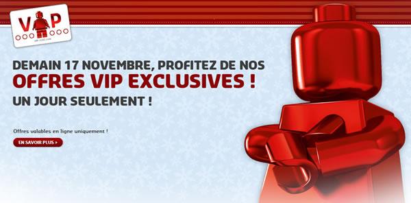 Accès en avant-première aux offres exclusives pour les membres LEGO VIP ! Samedi uniquement !