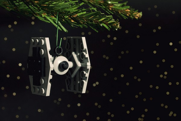 TIE Fighter Christmas Ornament - Chris McVeigh