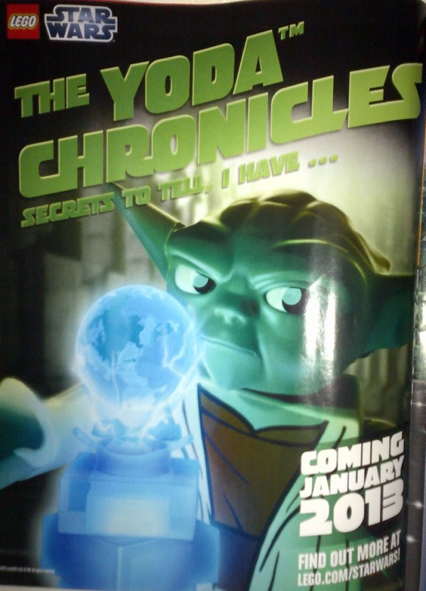 LEGO Star Wars The Yoda Chronicles 2013