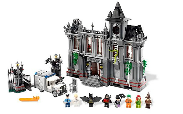 LEGO Super Heroes DC Universe - 10937 Arkham Asylum Breakout