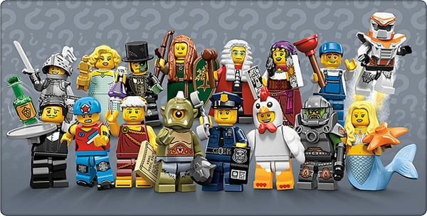 71000 Collectible Minifigures Series 9