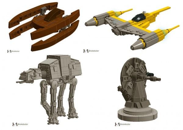 LEGO Star Wars Advent Calendar 2012 par Brickdoctor