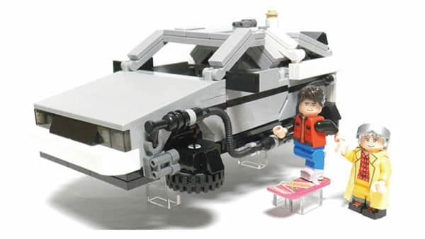 Back to the Future(BTTF) - DeLorean Time Machine