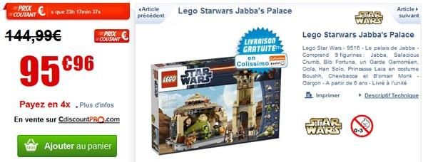 9516 Jabba's Palace à prix attractif chez Cdiscount