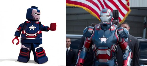 Iron Man 3 - LT. Col. James Rhodes Armor