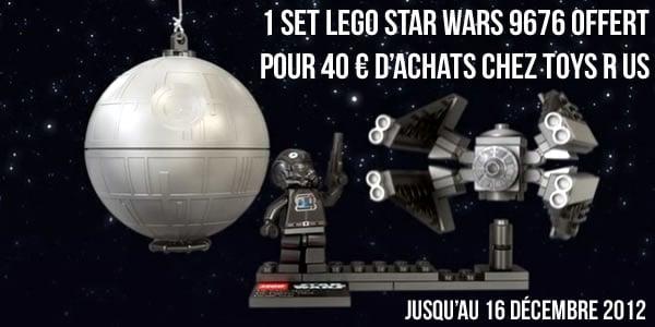 Toys R Us : 1 planète LEGO Star Wars offerte pour 40 € d'achats