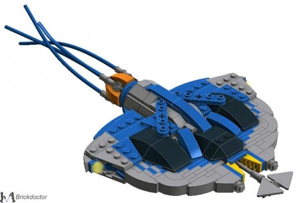 Midi-Scale Gungan Sub par Brickdoctor
