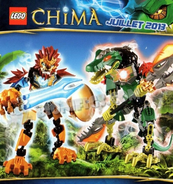 Legends of Chima Action Figures