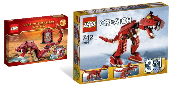 LEGO Creator 10250 - Year of the Snake