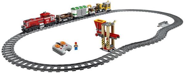 LEGO 3677 Red Cargo Train
