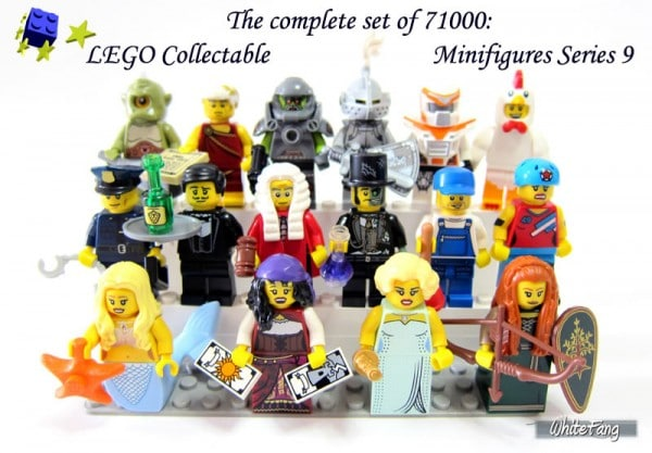 Collectible Minifigures Series 9