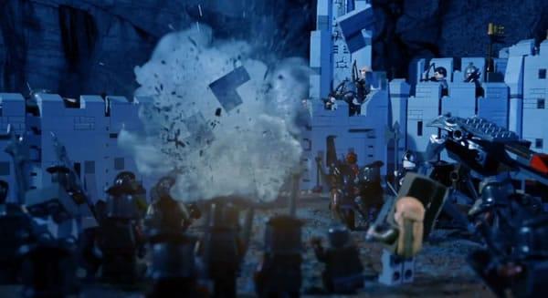 LEGO The Battle of Helm's Deep par BrotherhoodWorkshop