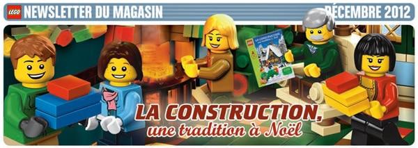 LEGO Store Calendar - Décembre 2012