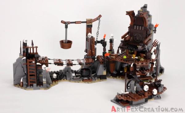 LEGO The Hobbit 79010 The Goblin King Battle