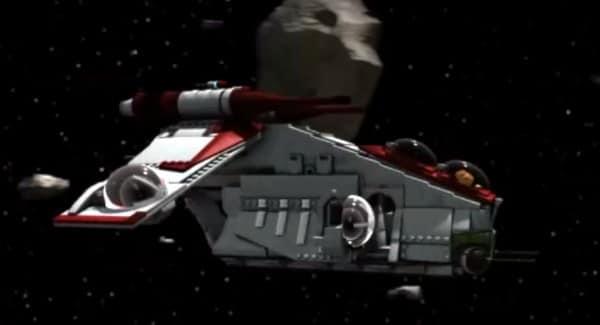 The Yoda Chronicles trailer - Republic Gunship