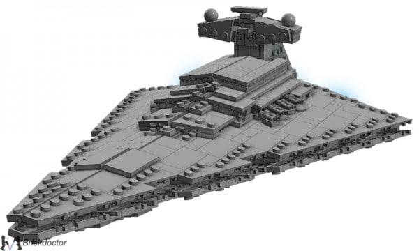 Midi-Scale Star Destroyer par Brickdoctor