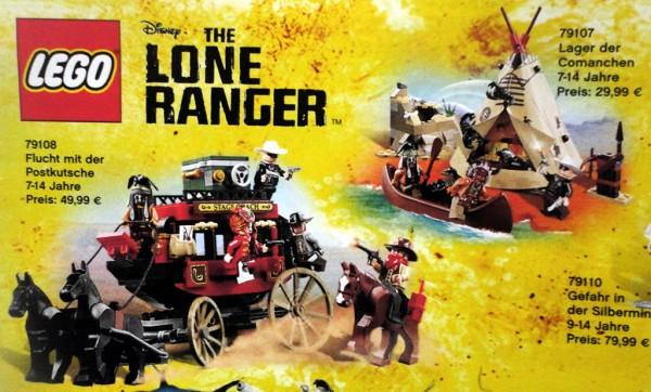 LEGO The Lone Ranger
