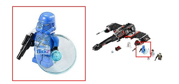 LEGO Star Wars 2013 - 75018 Jek-14 Stealth Starfighter