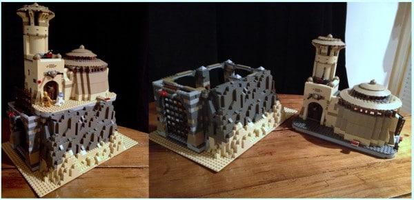 Modded 9516 Jabba's Palace &; 75005 Rancor Pit par Alex