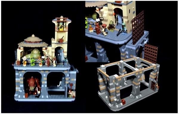 Modded 9516 Jabba's Palace & 75005 Rancor Pit par Darwin316