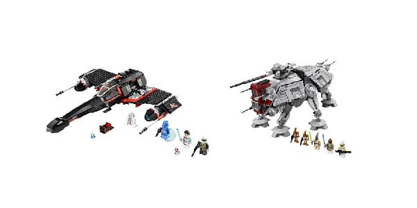 LEGO Star Wars 2013 - 75018 Jek-14 Stealth Starfighter & 75019 AT-TE