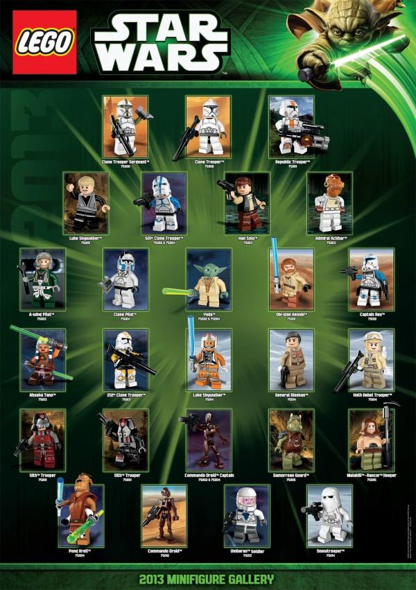 LEGO Star Wars 2013 Minifigure Gallery