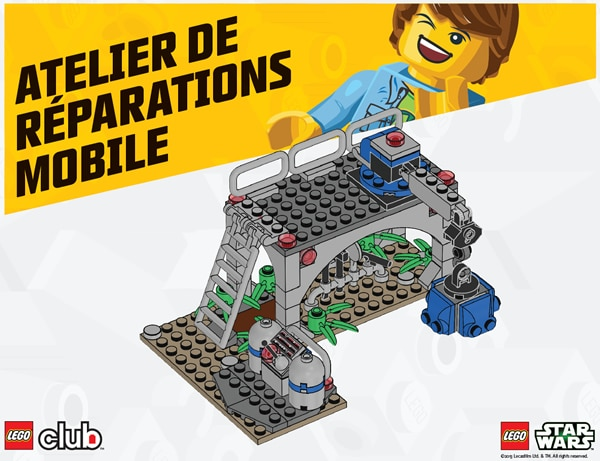 LEGO Star Wars Atelier de Réparation Mobile