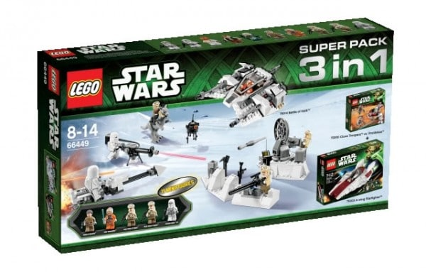 66449 LEGO Star Wars Super Pack 3 in 1