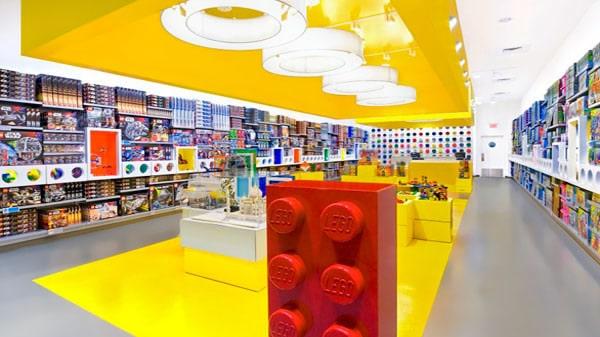 Grande fête d'inauguration du LEGO Store Lille du 30 janvier au 2 février 2013