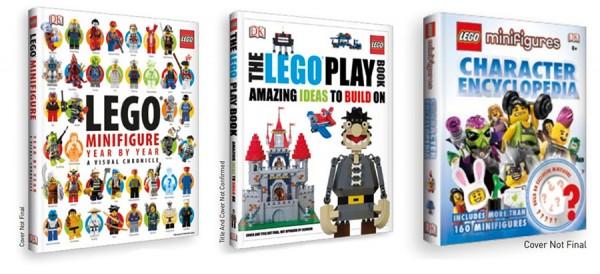 New 2013 DK LEGO Books