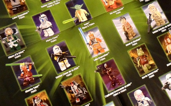 LEGO Star Wars 2013 Minifigures poster