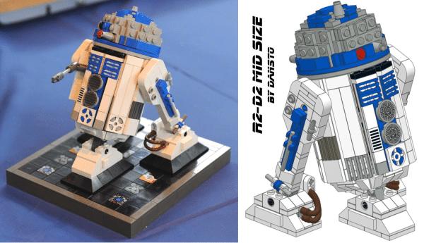 R2-D2 Mid-Size par DanSto