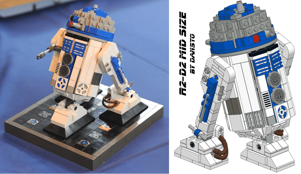 Du Midi Scale Et Avec Les Instructions Au Format Pdf Hoth Bricks