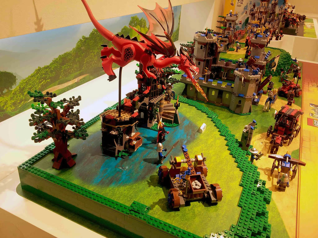 Chateau lego - Jeux ninjago final battle ...
