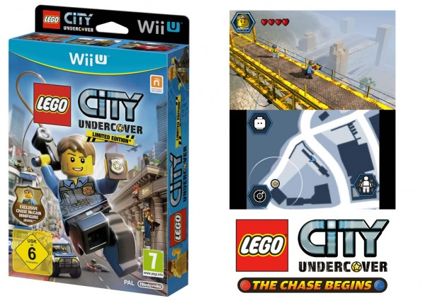 LEGO City Undercover Limited Edition & Version Nintendo 3DS