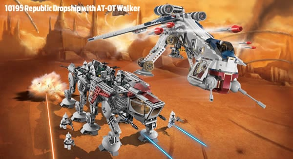 LEGO Star Wars 10195 Republic Dropship with AT-OT Walker