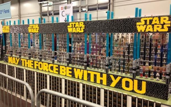 LEGO Star Wars MInifigs Display par Bo Jensen - LEGO World 2013
