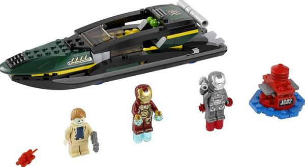 LEGO Marvel Super Heroes - 76006 Iron Man Extremis Sea Port Battle