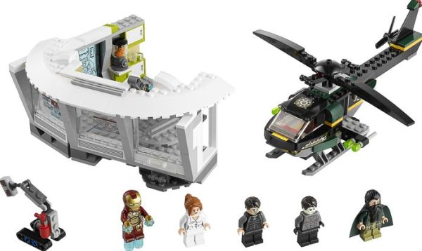 LEGO Marvel Super Heroes - 76007 Iron Man Malibu Mansion Attack