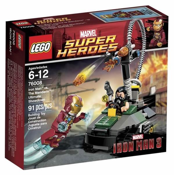 LEGO Marvel Super Heroes - 76008 Iron Man vs The Mandarin Ultimate Showdown