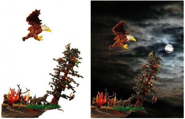 The Hobbit par Legopard