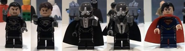 Superman LEGO 2013 minifigs