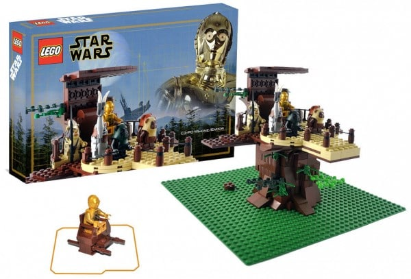 C-3PO Throne Endor par Omar Ovalle