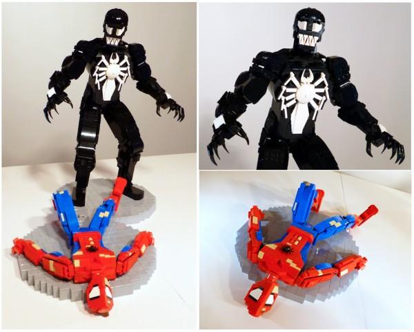 Venom vs Spider-Man par Shawn Snyder