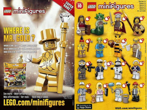 71001 Collectible Minifigures Series 10