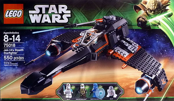LEGO Star Wars The Yoda Chronicles : 75018 JEK-14's Stealth Starfighter