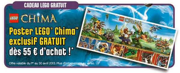 Poster exclusif Legends of Chima